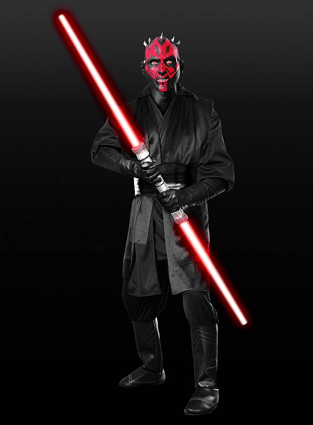 original star wars darth maul kost m ebay. Black Bedroom Furniture Sets. Home Design Ideas
