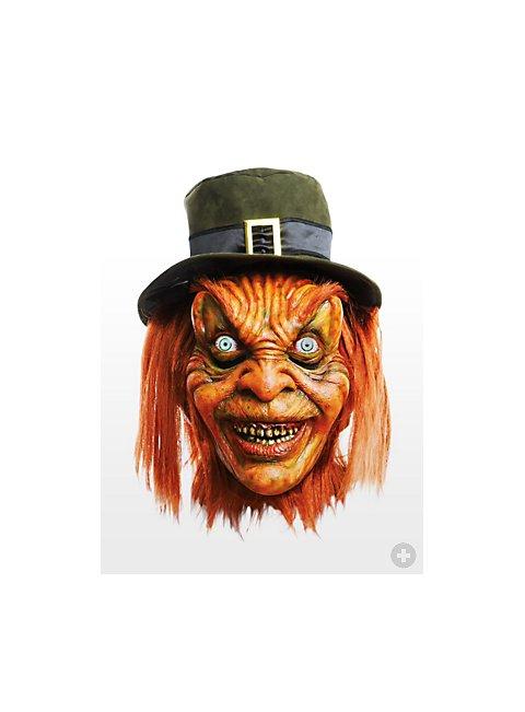 Original leprechaun mask for Leprechaun mask template