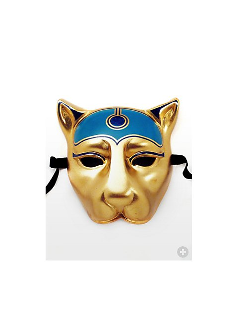 Bastet cat goddess egyptian mask for Egyptian masks templates