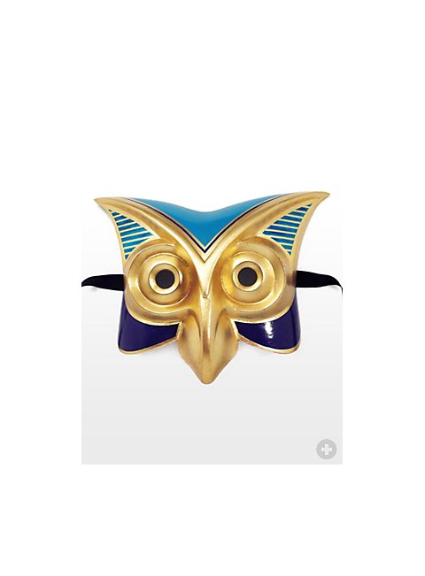 Eagle owl egyptian mask for Egyptian masks templates