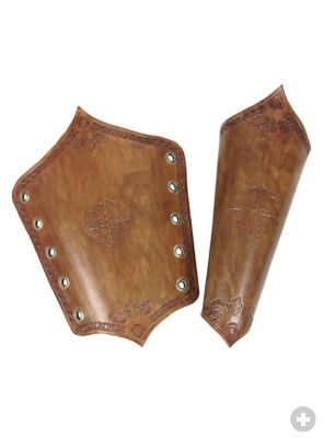 Gwynfor's Patterns - Elbows/vambrace